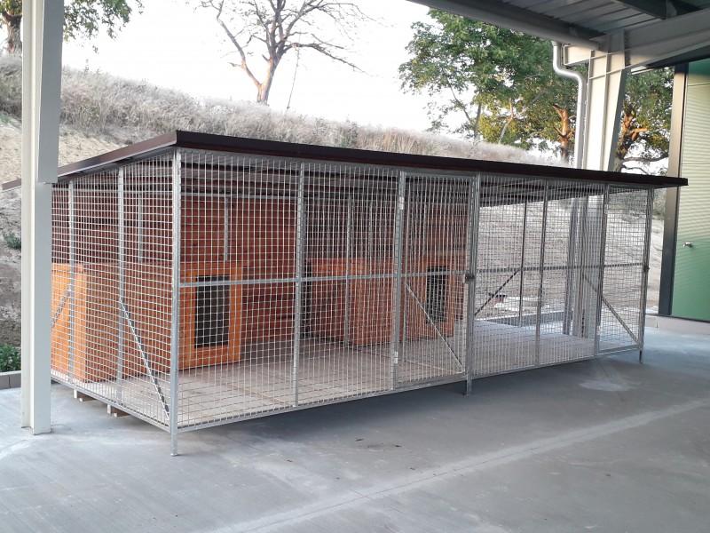 34b1fdfba voliéra pre psa komplet hotové, od 450,-€